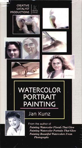 Kunz, Jan: JK2 - Watercolor Portrait Painting - Girl