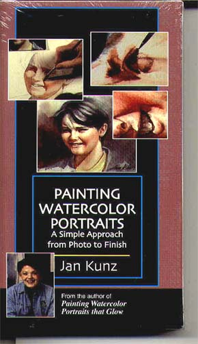 Kunz, Jan: JK4 - Painting Watercolor Portraits