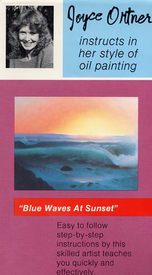 Ortner, Joyce: JO03 - Blue Waves at Sunset