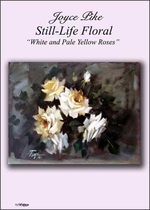 Pike, Joyce: JP1112 - White & Pale Yellow Roses