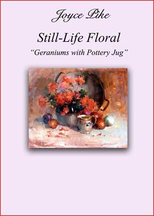 Pike, Joyce: JP1718 - Geraniums with Pottery Jug
