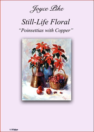 Pike, Joyce: JP2324 - Poinsettias with Copper