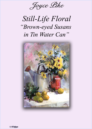 Pike, Joyce: JP3940 - Brown-eyed Susans, Tin Water Can