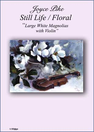 Pike, Joyce: JP4142 - Large White Magnolias, Violin