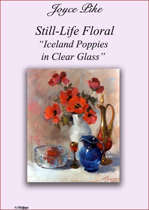 Pike, Joyce: JP4748 - Iceland Poppies in Clear Glass