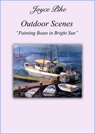 Pike, Joyce: JP6162 - Boats in Bright Sun