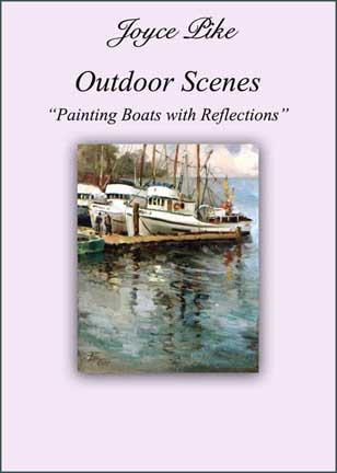 Pike, Joyce: JP6364 - Boats with Reflections