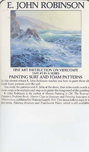 Robinson, E. John: JR102 - Surf & Foam Patterns