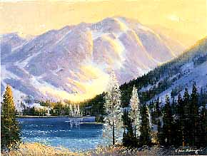 Robinson, E. John: JR301 - Mountain & Lake