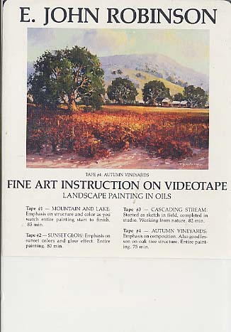 Robinson, E. John: JR304 - Autumn Vineyards