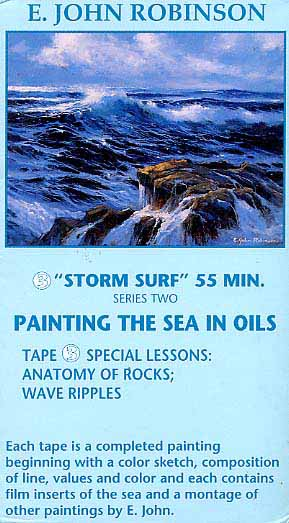 Robinson, E. John: JR503 - Storm Surf
