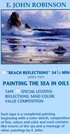 Robinson, E. John: JR504 - Beach Reflections