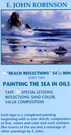 Robinson, E. John: JR504 - Beach Reflections