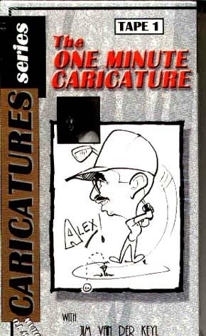 Van Der Keyl, Jim: JVDK1 - One Minute Caricature