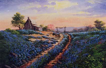 Yarnell, Jerry: JY8906 - Texas Bluebonnet