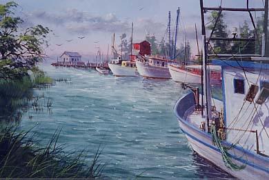 Yarnell, Jerry: JY8954 - Ocean Springs Harbor