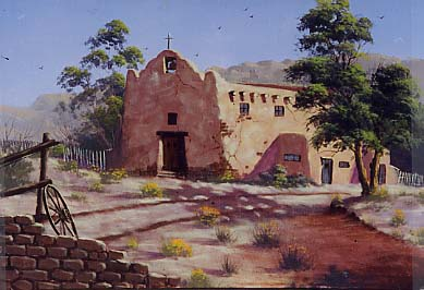 Yarnell, Jerry: JY8958 - Spanish Mission