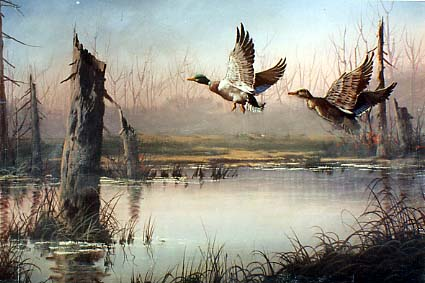 Yarnell, Jerry: JY8972 - Marshland Fowl