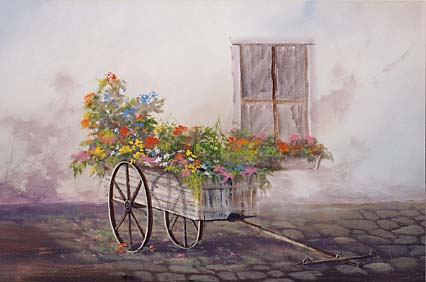 Yarnell, Jerry: JY9011 - Flower Cart