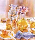 Simmons, Karen: KS4 - At Home With Watercolors - Tea Set & Flowers