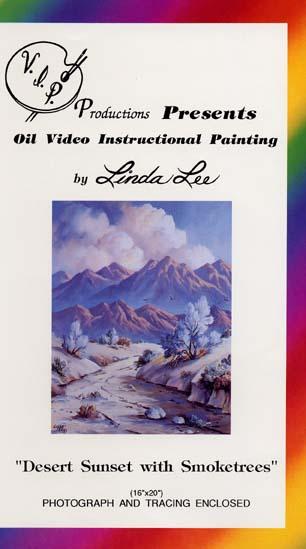 Lee, Linda: LL104 - Desert Sunset/Smoke Trees