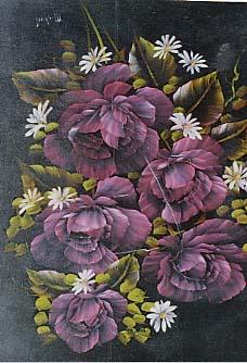 Brennan, Michael: MB12 - Flourescent Pink Rose