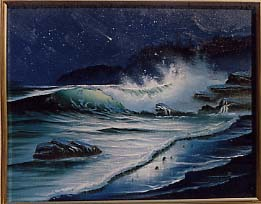 Brennan, Michael: MB3 - Palos Verde Nightime Seascape