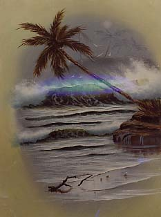 Brennan, Michael: MB5 - Hawaiian Green Seascape