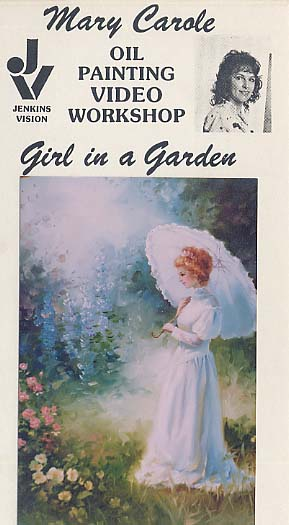 Carole, Mary: MC604 - Girl in a Garden
