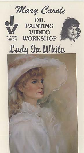 Carole, Mary: MC605 - Lady in White Portrait
