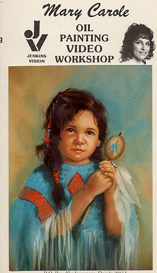 Carole, Mary: MC606 - Little Indian Girl Portrait