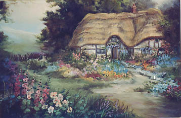 Carole, Mary: MC609 - English Cottage