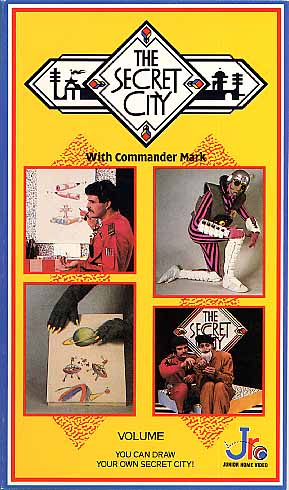 Commander Mark Series: MKP105 - The Secret City - Volume 3