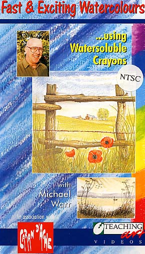Warr, Michael: MWR01 - Fast & Exciting Watercolor Crayons