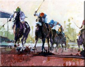Boyle, Neil: NB1112 - Race Horses