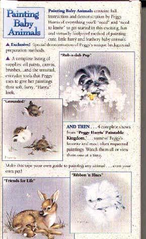 Harris, Peggy: PEG1 - Painting Baby Animals I