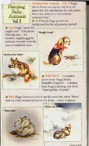Harris, Peggy: PEG3 - Painting Baby Animals III