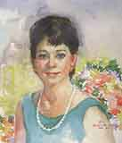 Carter Clark, Roberta: RCC02 - Portraits in Watercolor