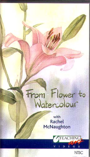 McNaughton, Rachel: RMC02 From Flower to Watercolor