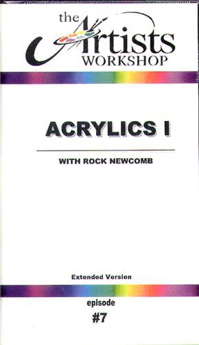 Newcomb, Rock: RN01 - Acrylics I