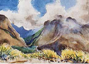 Scott, James Godwin: S6882 - Mountains, Maui