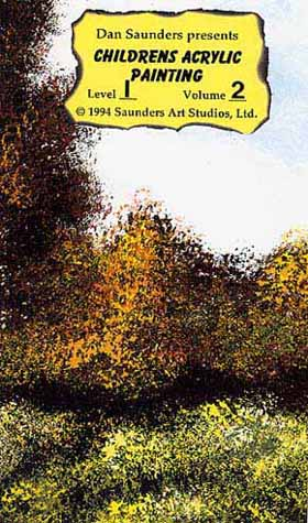 Saunders, Dan: SAU22 - Childrens Acrylic Painting - Autumn
