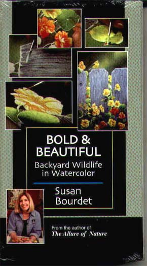 Bourdet, Susan: SB1 - Bold & Beautiful, Backyard Wildlife