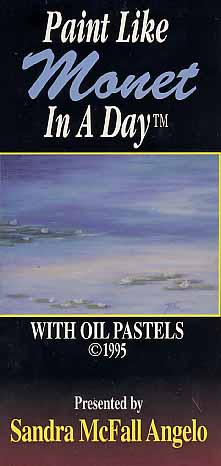 Angelo, Sandra: SM14 - Paint Like Monet in a Day Oil Pastels