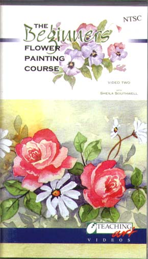 Southwell, Sheila: SS02 - Beginners Flower Painting Pt.2