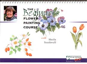 Southwell, Sheila: SS100 - Beg. Flower Painting Course Pt.1