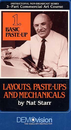 Starr, Nat: STR1 - Basic Paste Up-Advertising Layup