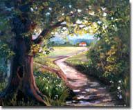 Swenson, Susan: SUS0304 - Landscape with Trees