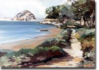 Swenson, Susan: SUS0506 - Painting Morro Bay