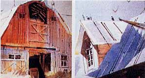 Couch, Tony: TC05 - Painting Barns in Watercolor